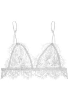Isabel Marant Mia lace soft-cup bra top | NET-A-PORTER