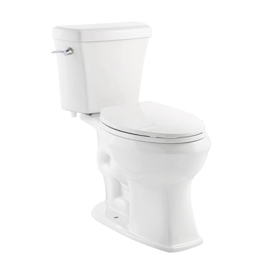 Jacuzzi Lyndsay White Watersense Labeled Elongated Chair Height 2 Piece Toilet 12 In Rough In Size Water Sense Chair Height Jacuzzi
