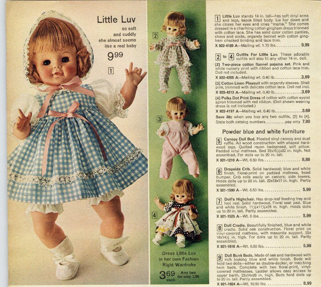 1970s Dolls, Cuddly