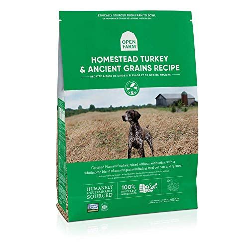 Open Farm Homestead Turkey and Ancient Grains Recipe Dry