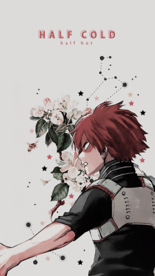 Shouto Todoroki Wallpaper Tumblr Shouto Izuku Midoriya Anime Estetico