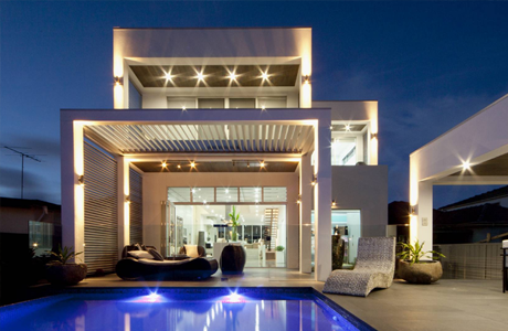 A residential house build using hebel for its external walls