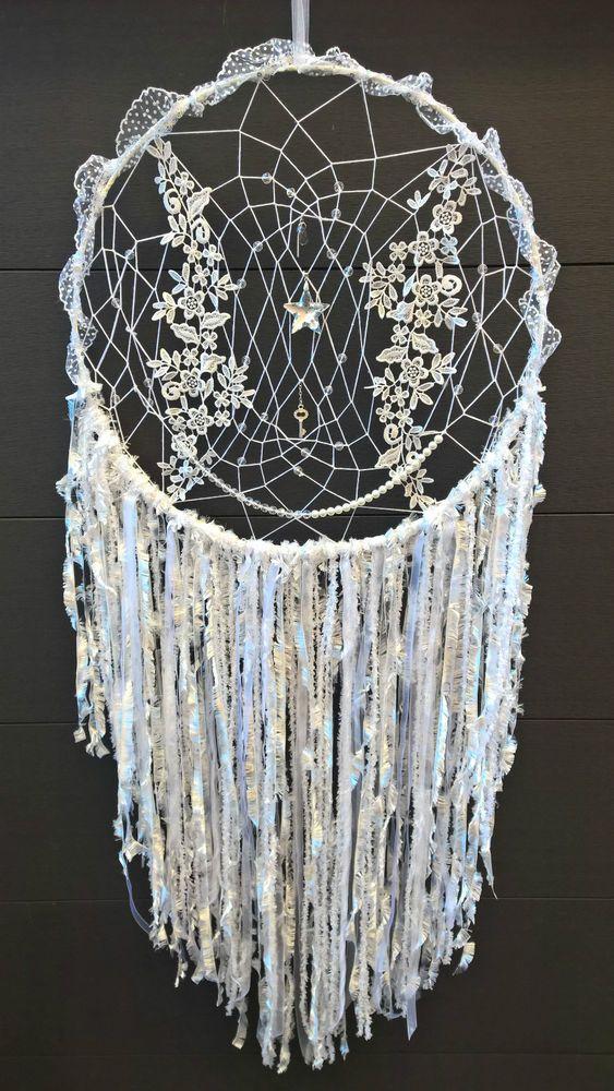 xxl traumfänger dreamcatcher wand decor deco hochzeit dekoration