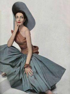 Madame Gres 1952 - Vintage fashion.