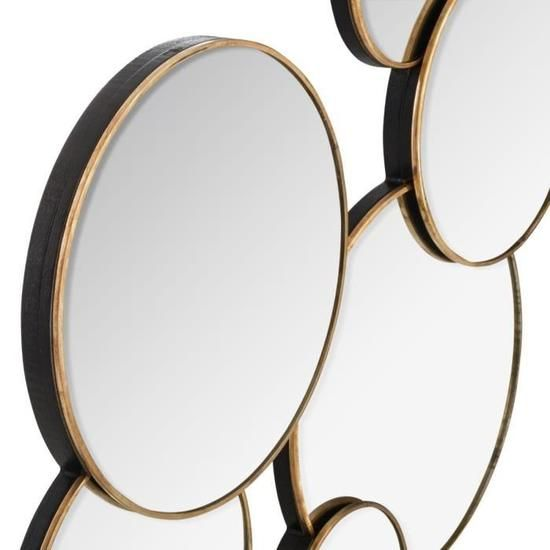 miroir miroir art deco miroir rond