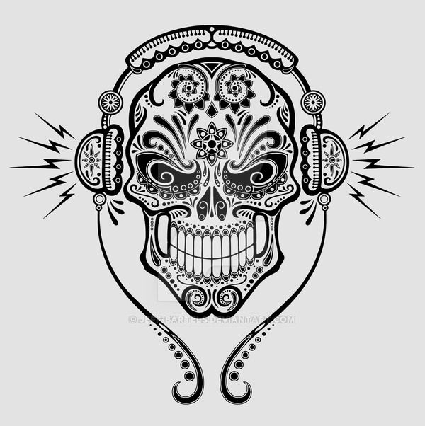 Pin by Darcey Stanley on Skulls | Pinterest | Adult coloring