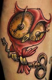Clock Tattoo Meaning 47 Owl Tattoos Owl Tattoo Design Tattoo