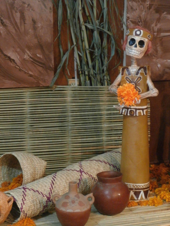 Dia de los Muertos altar in Puebla