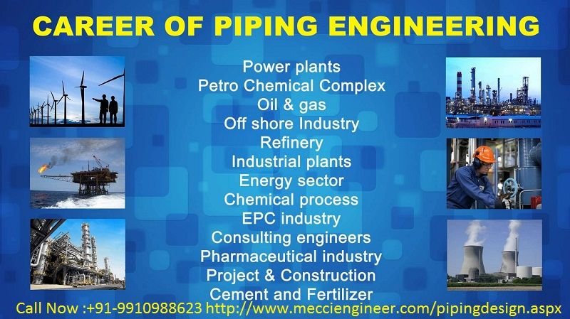 Mecci Engineers Is A Private Limited Training Institute If You Are Looking For Industrial Level Training Of B Tech Bran Design Course Piping Design Engineering