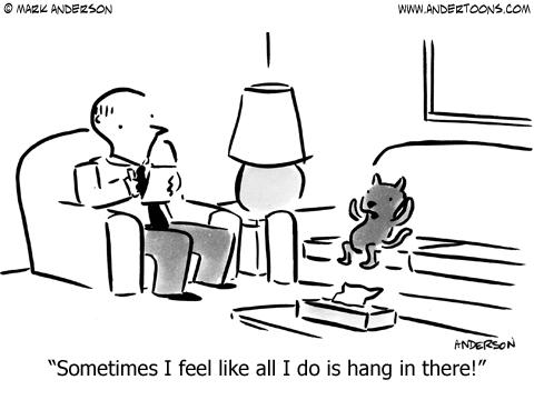 Therapist Cartoons Therapy Cartoon 6012 Sometimes I Feel Like All