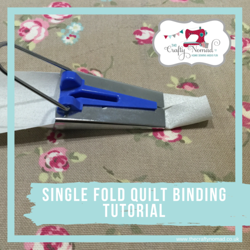 Tutorial Tuesday - Single Fold Quilt Binding