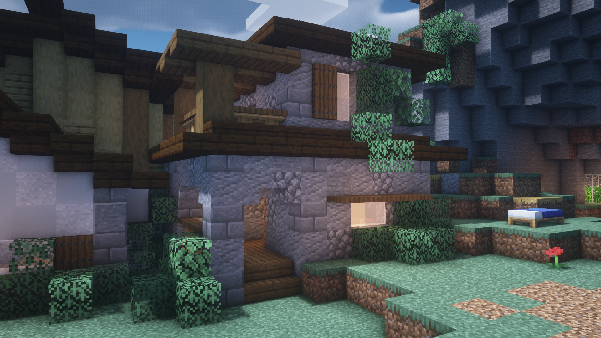 Cozy House In My Survival Village By U Ethereal Meerkat In 2021 Minecraft Cottage Cozy House Minecraft Houses