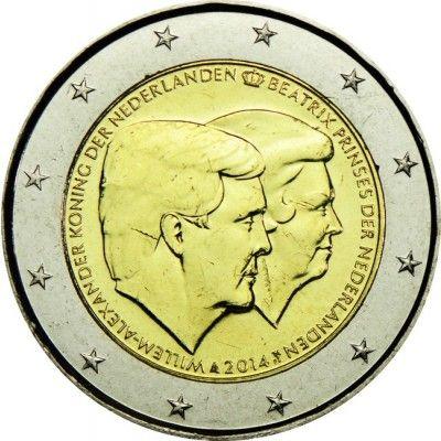 2 Euro Cuni Doppelportrait Un Notas Moedas