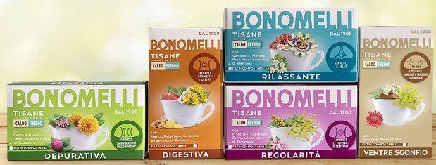 DIVENTA TESTER Tisane Bonomelli Con Donna Moderna