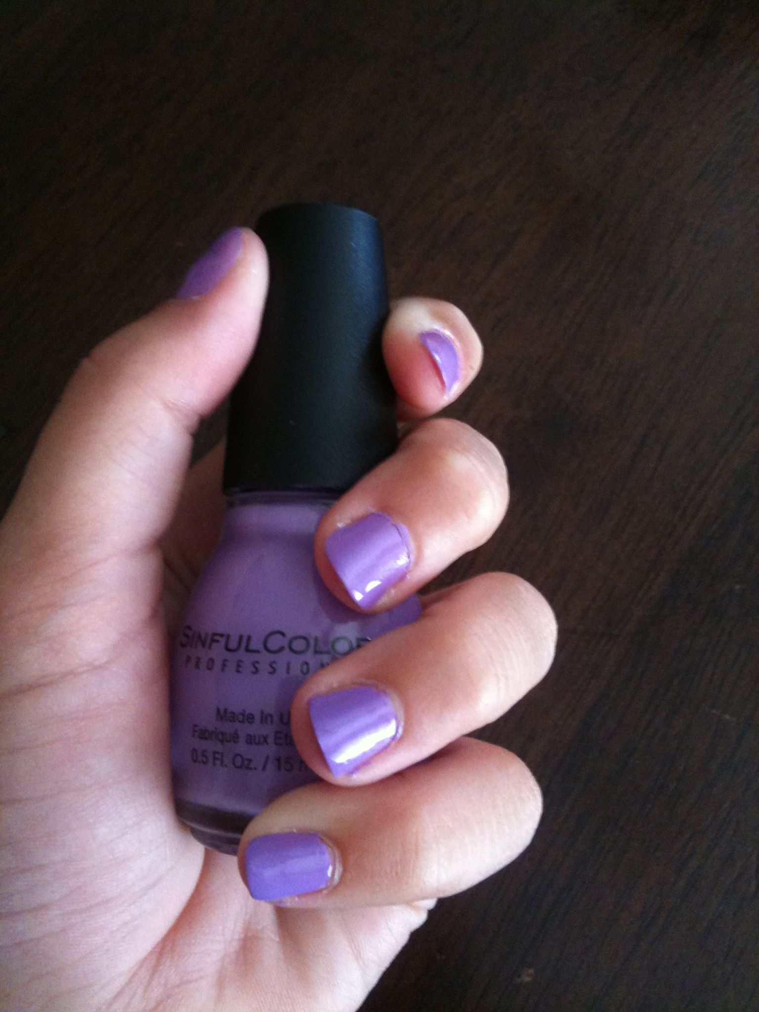 Cute purple nails