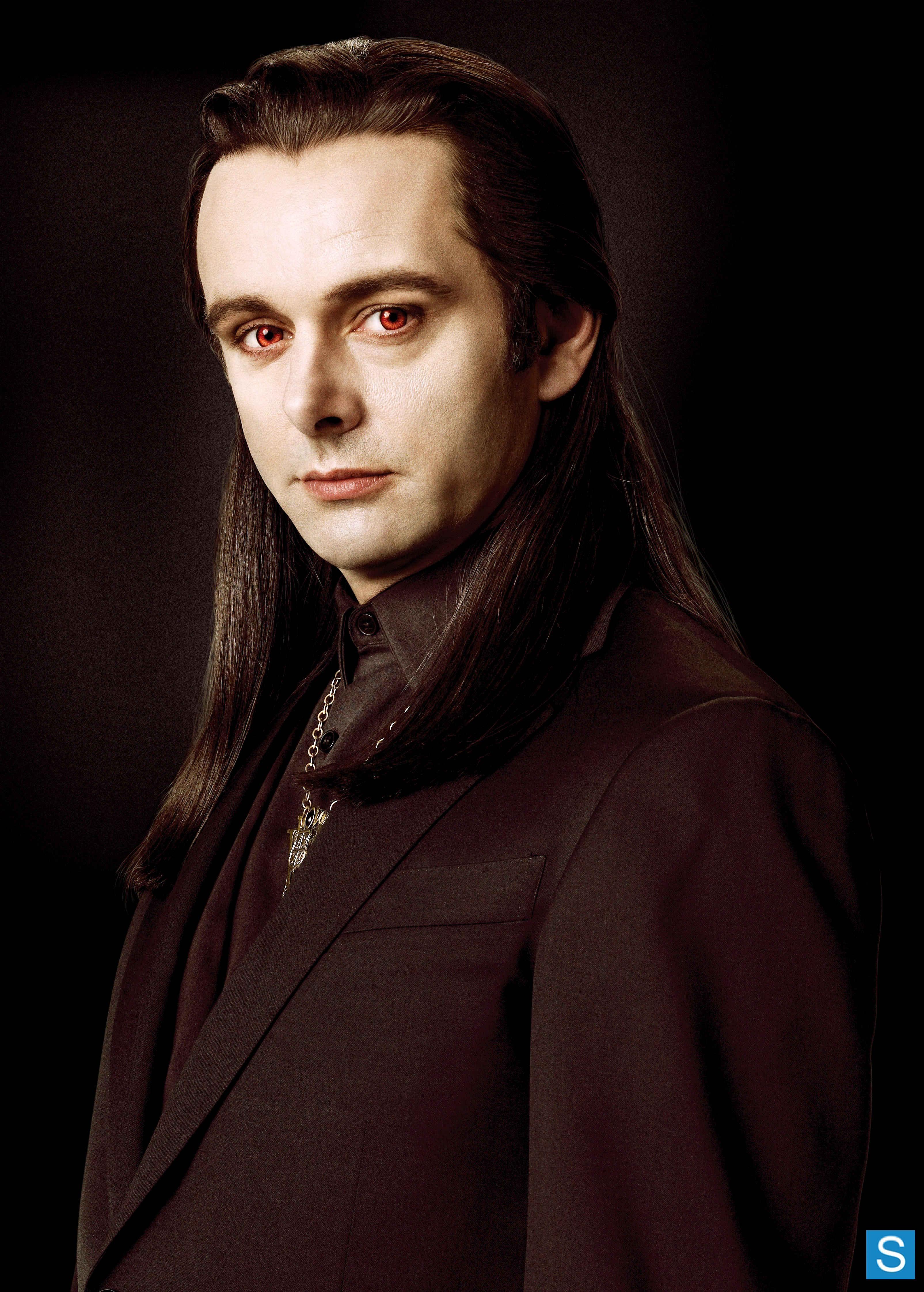 "Michael Sheen as vampire Aro in the ""Twilight Saga"" films ... Vampire Twilight 5"