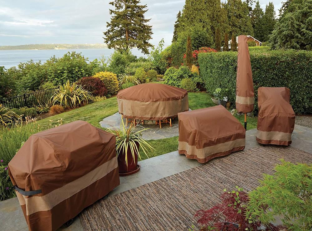 Amazon Com Duck Covers Ultimate Waterproof 32 Inch Patio Chair Cover Garden Outdoor In 2020 Patio Chair Covers Patio Chairs Patio