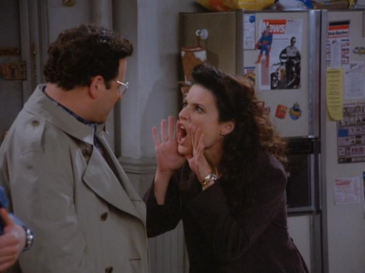 Pin By Seinfeld On Elaine Benes Seinfeld Seinfeld Quotes Seinfeld Funny