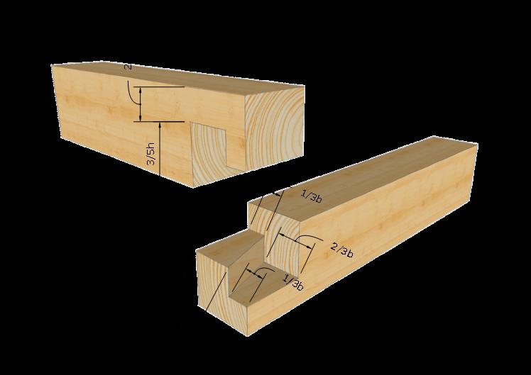 Zimmermannsm ige holzverbindung schwalbenschwanz eckblatt for Holzverbindungen fachwerk