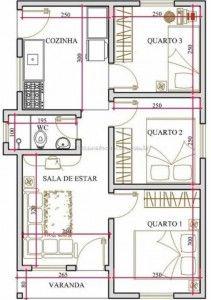 Como construir casa economica en ladrillo planos de - Hacer planos de casa ...