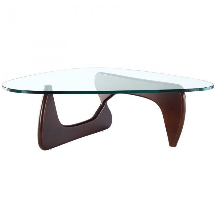 Noguchi Style Coffee Table BASE ONLY in Walnut Coffee table base