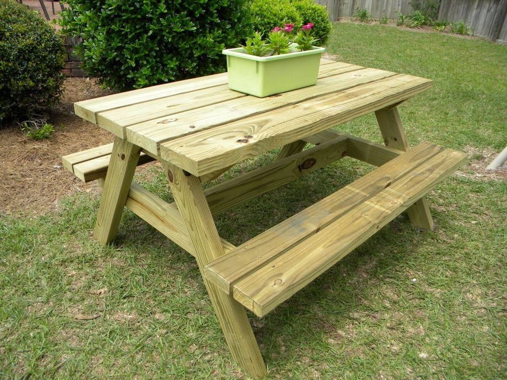 Lowes Picnic Table Google Search Rustic Woodworking Projects
