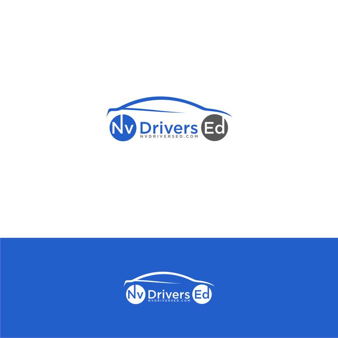 Generic Logo Designs Sold On Www 99designs Com Cleaning Logo Logo Design Drivers Education