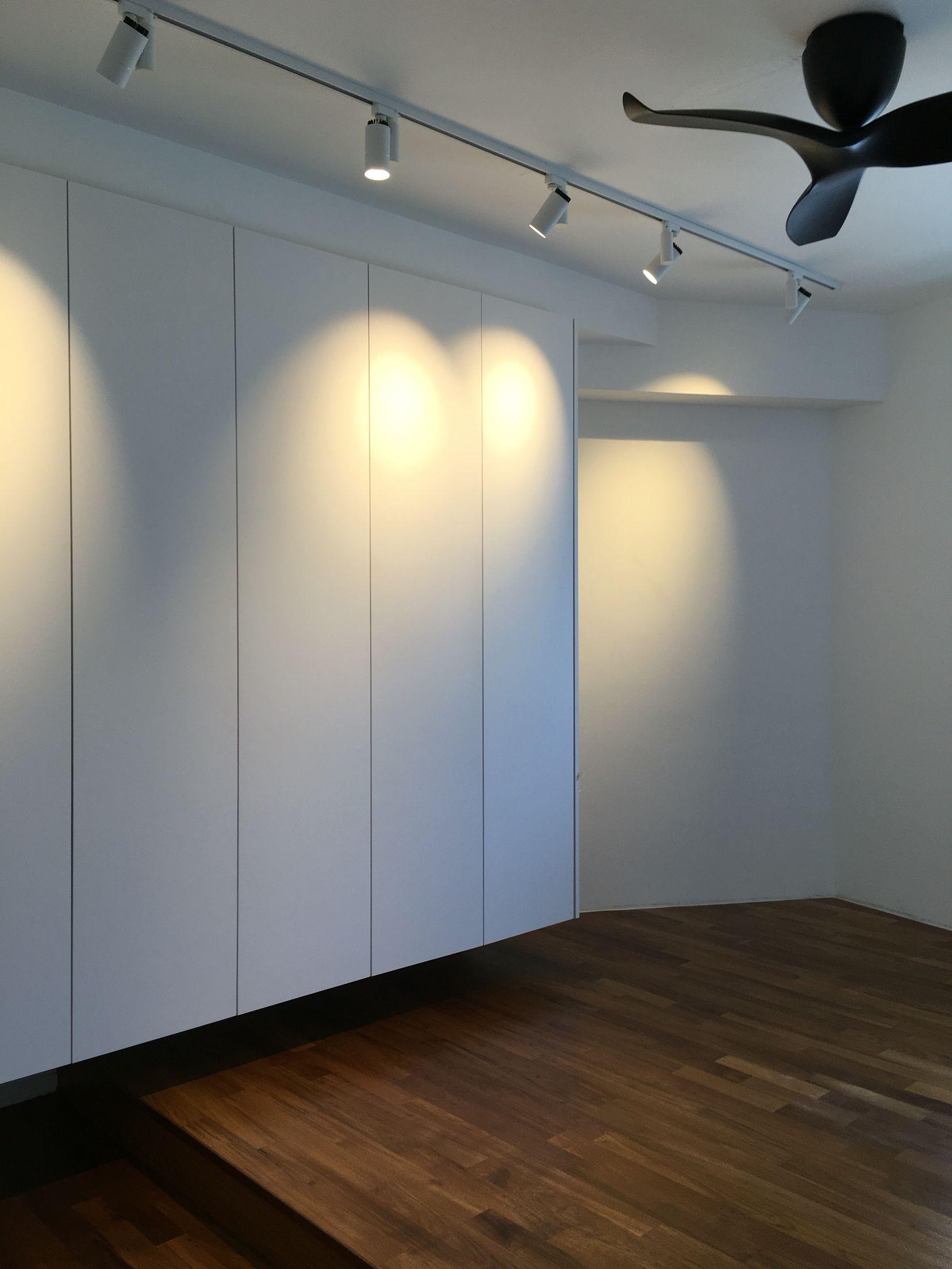 Hdb Bedroom: Minimalista, Living