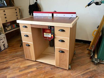 Router table with a side project lumberjocks projects pinterest one was my table based router it was mounted in an incra top with an incra plate and incra fence greentooth Images