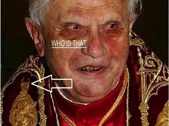 another user said: He Looks Like Satan