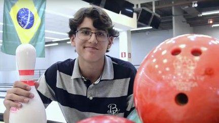 Física quântica leva estudante de BH à semifinal de concurso internacional (Reprodução/YouTube/Diogo Afonso Leitão)