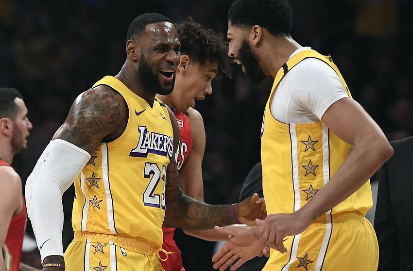 Los Angeles Lakers Rumors Only Lebron James Anthony Davis Safe From Being Traded In 2020 Los Angeles Lakers Anthony Davis Nba Mvp