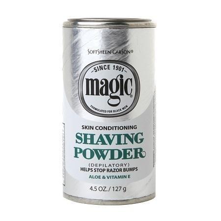 Magic Shave Shaving Powder Depilatory Skin Conditioning