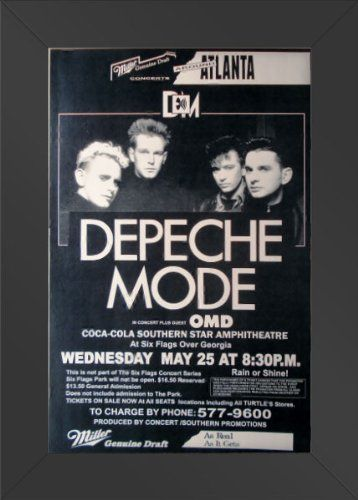 Pin by City Moon Art on Framed Movie Posters | Depeche mode