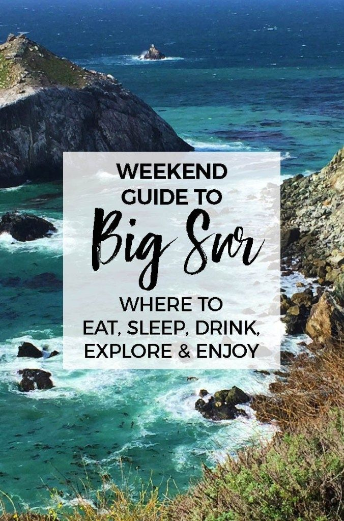 10 Best Things To Do in Big Sur: discover beauty & mystery of California's coast (With images ...