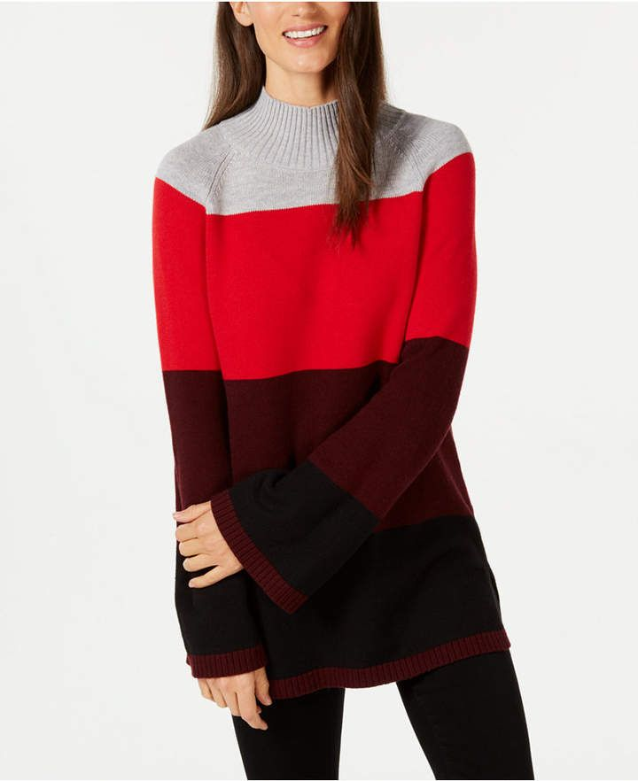 32a33669 Charter Club Flare-Sleeve Sweater | Products in 2019 | Sweaters ...