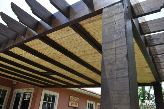 What Pergola Roof Styles You Can Go For Outdoor Pergola