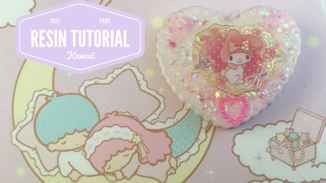 ASMR (ita) ♡ Whisper -- Come Creo Con La Resina -- Kawaii Resin Charm Tutorial ♡ <3