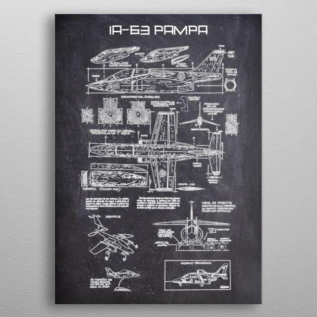 IA63 PAMPA by FARKI15 DESIGN | metal posters - Displate | Displate thumbnail