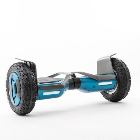 hoverboard force x2 10 roues crampon 4x4 poign es transport enceinte bluetooth bleu. Black Bedroom Furniture Sets. Home Design Ideas