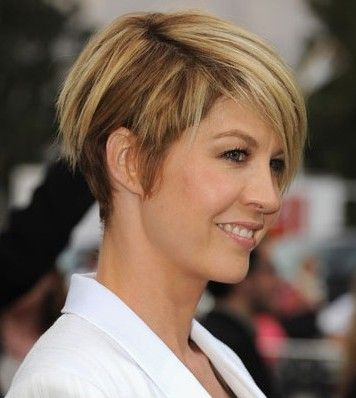 Love The Color Short Choppy On One Side Longer Smooth On The