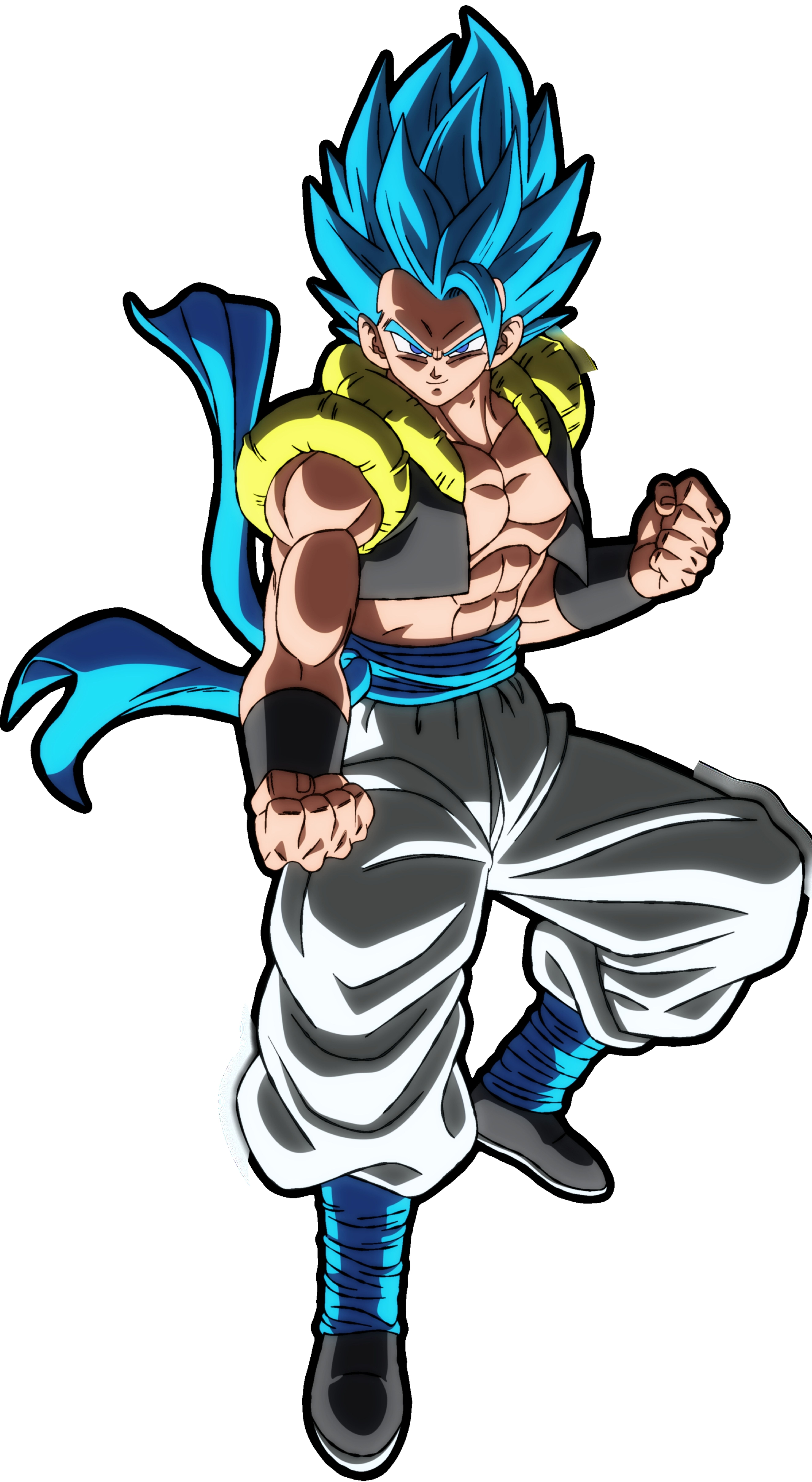 Gogeta Ssj Blue Chibi Dragon Dragon Ball Super Manga Dragon Ball Goku