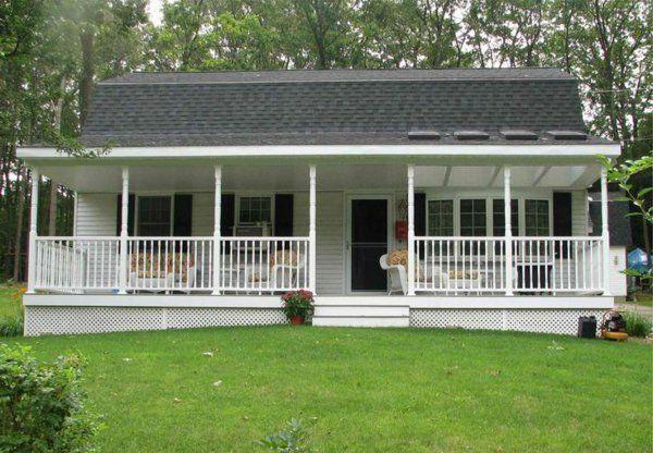 amerikanische holzhäuser mit vorbau veranda | traumhaeuser ... - Amerikanische Holzhuser