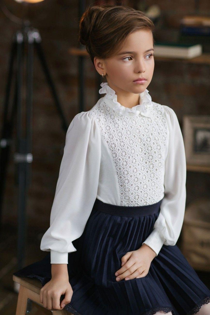 Блузки школьные для девочек подростков выкройки