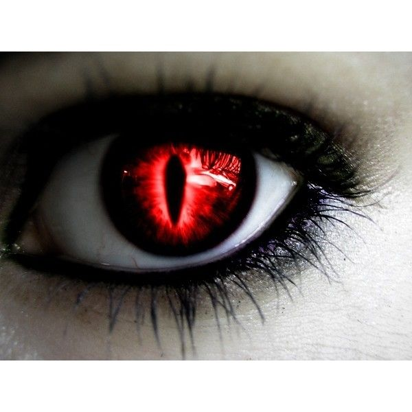 Vampire Anime Eyes Red Slit Eyes liked on...