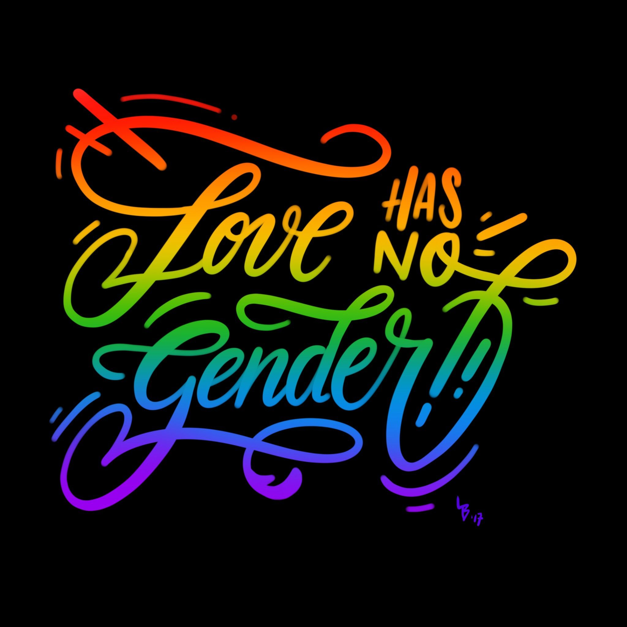 Love Has No Gender Quotes Love Has No Gender Procreate