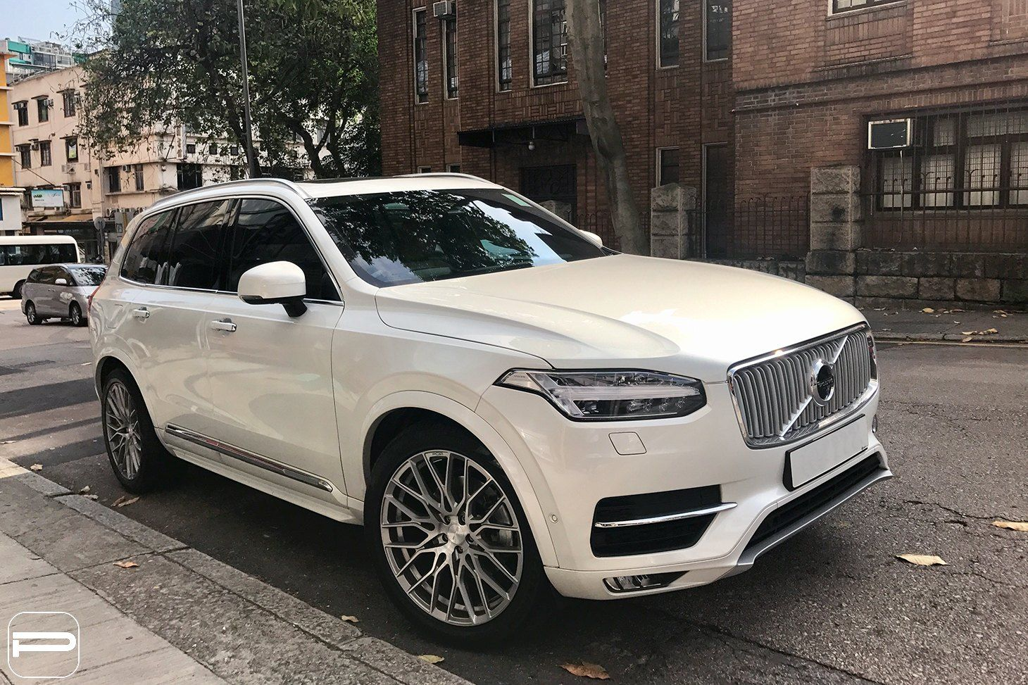 White Volvo Xc90 With Chrome Billet Grille Photo By Pur Wheels Volvo Xc90 Volvo Cars Volvo