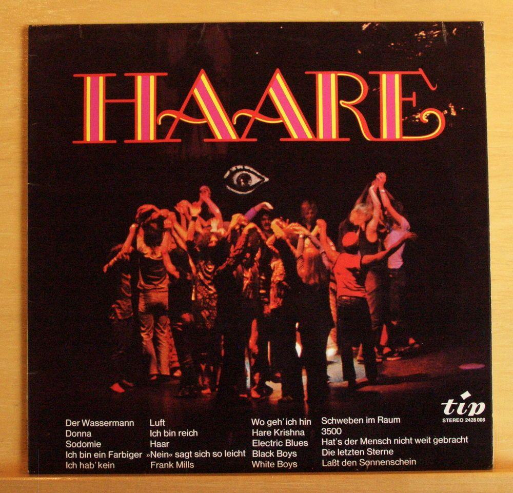 THE TWANGY-GANG Haare - Deutsche Fassung Vinyl LP - Der Wassermann Sodomie 3500