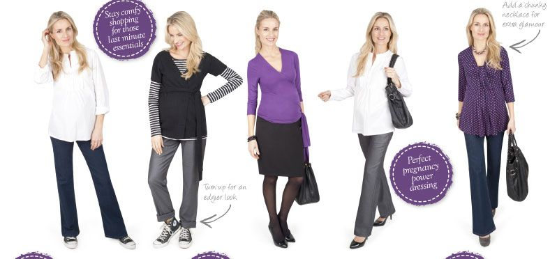 8 Wardrobe Essentials To Take You Through Your Pregnancy.