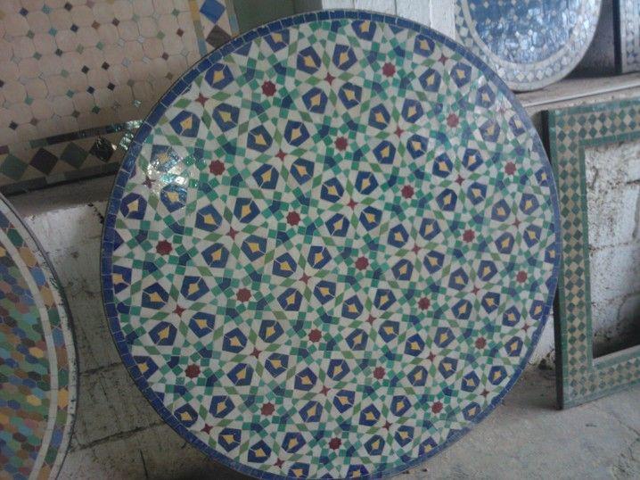 table mosaique marocaine maroc pinterest. Black Bedroom Furniture Sets. Home Design Ideas